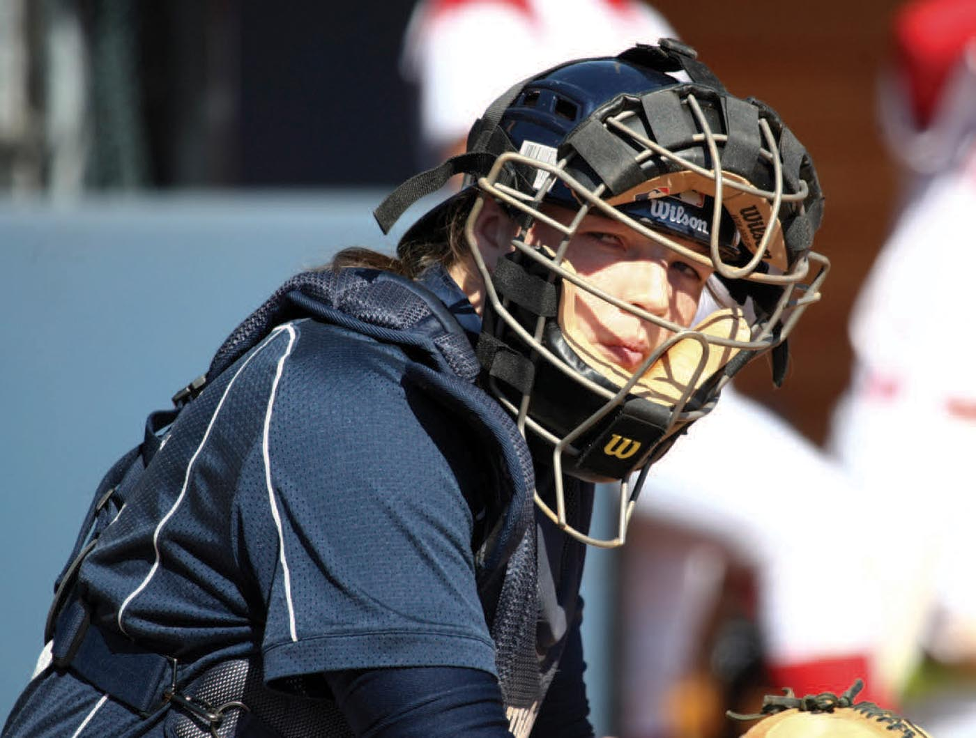 Longwood recognized talent in softball star Megan Baltzell '14 that other Division I schools overlooked. © Red Rocket Photography.