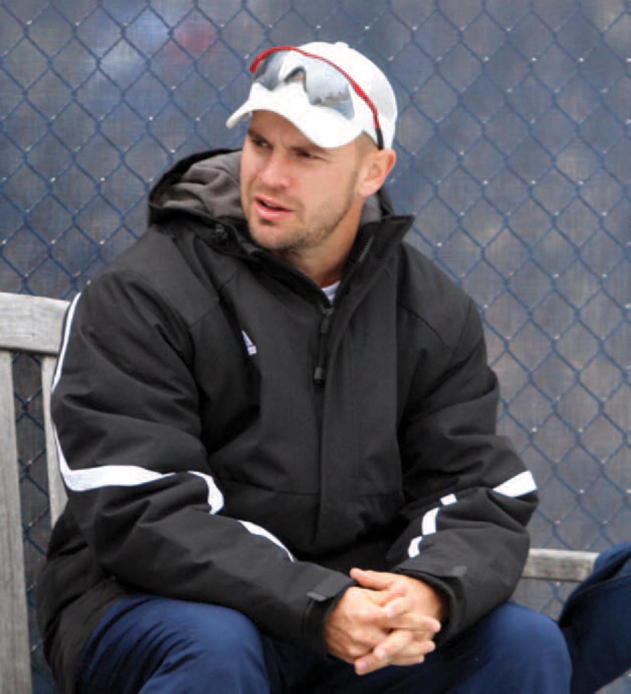 Casey Wharton is the new head coach of the women's tennis team.