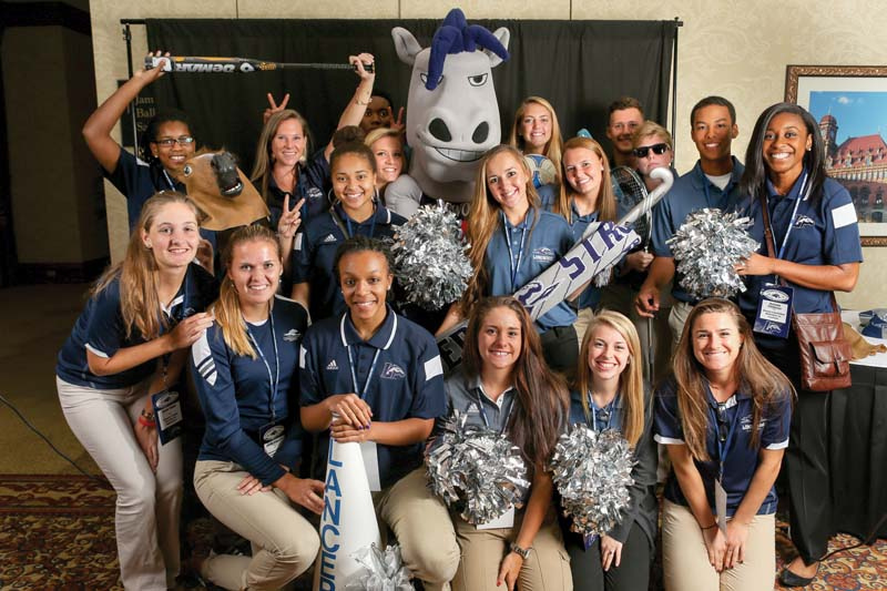 Proceeds from the Longwood Athletics Benefit Celebration help provide  scholarships for student-athletes.
