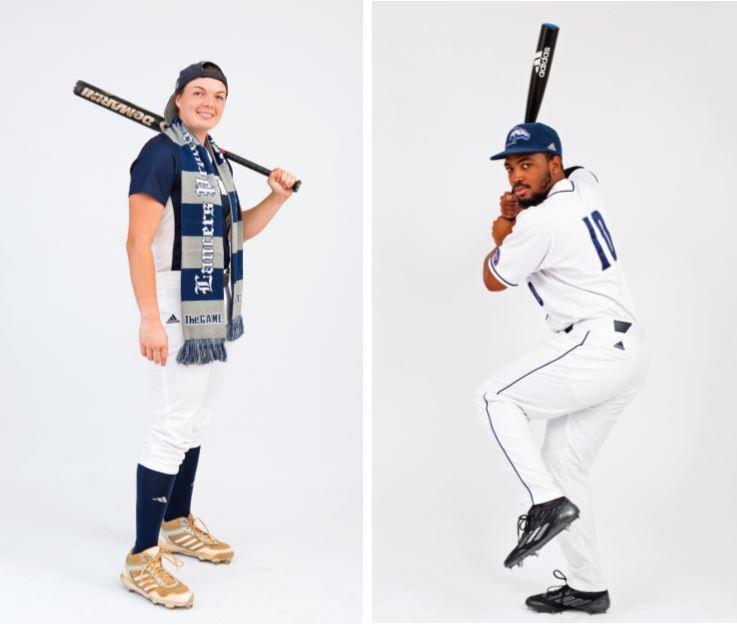 Megan Baltzell '15 and Kyri Washington '16 plan to hit it out of the park this season.