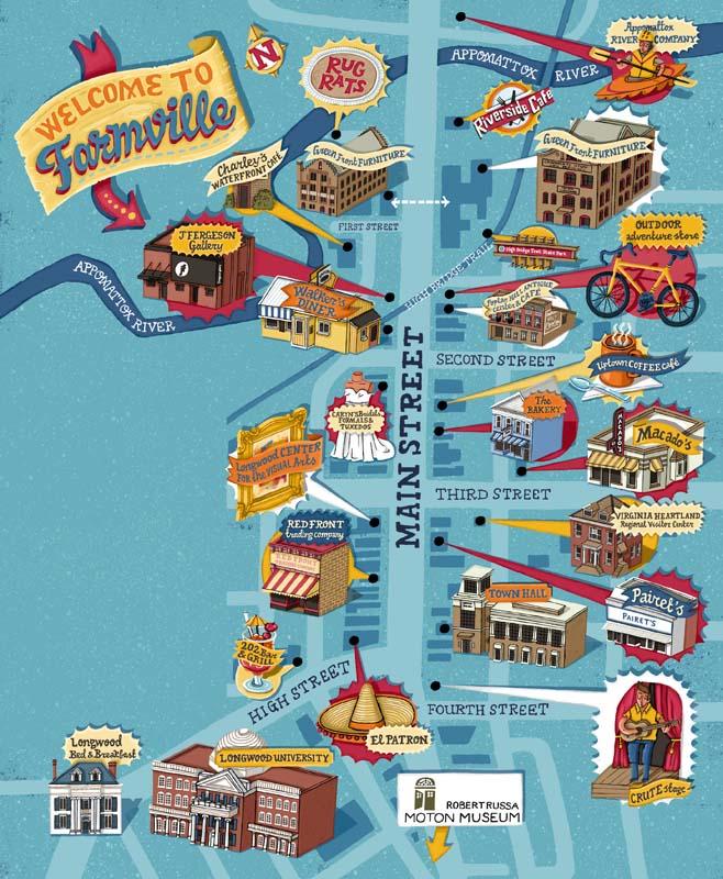 Farmville Fun Map