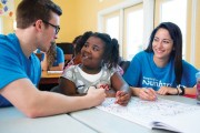 Students create after-school program to point underserved kids in a positive direction