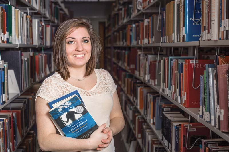 Emily Hines '16 got the attention of faculty with her tweet requesting a course on banned books.