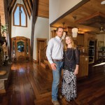 Zach '95 andTiffany '95 Baldridge met as resident advisors at Longwood.