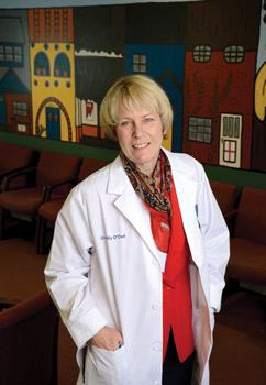 Dr. Molly O'Dell '76