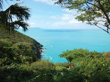 Guana Island. Photo Credit: Dr. Brian Bates '92