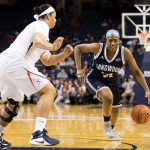 Eboni Gilliam '17 played for the Cape Fear Sea Devils before transferring to Longwood.