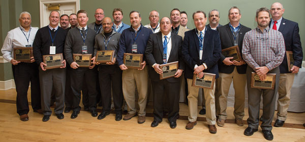 The 1982 baseball team at the 2016 Hall of Fame