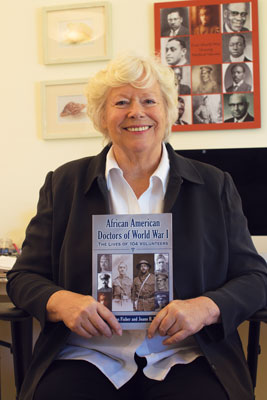 Joann Buckley '66 is the co-author of African American Doctors of WorldWar I:The Lives of 104 Volunteers, which was featured in February in a special Black History Month section in USA Today.