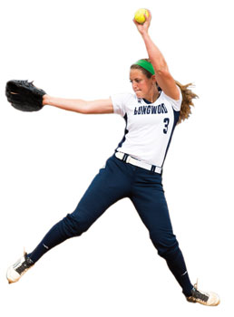 Elizabeth 'Biz' McCarthy '17, 2016 Big South Preseason Pitcher of the Year.