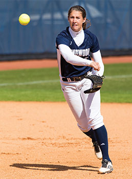 Elizabeth 'Biz' McCarthy '17, 2016 Big South Preseason Pitcher of the Year