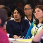 Twenty schools sent teams of teachers to Longwood for the initial group session of the Teacher Leadership Program.