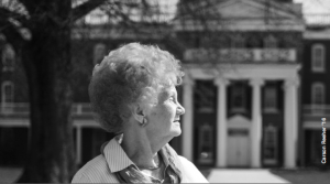 Nancy Drudge Fawcett '58 did her student teaching at the whites only Farmville High School and later served on the Prince Edward County School Board.