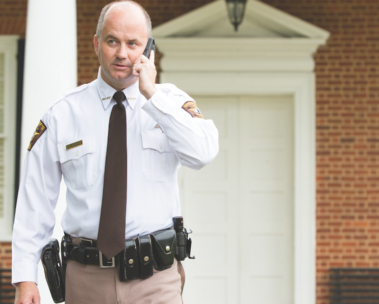Cumberland County Sheriff Darrell Hodges '07 takes a compassionate approach to law enforcement.
