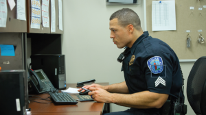 Sgt. Jay Louden '01, of the Richmond Police Department, says the many community programs run by his department give officers the chance to get to know people and for community members to realize police officers are 'people like them.'