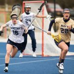 Shiloh McKenzie '16 (left) netted Co-Defensive Player of the Year honors in the Big South.
