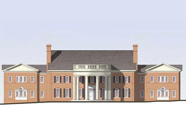 New Admissions Building