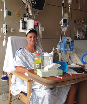 Heather Monger '14 was the University of Virginia Health System's first nondirected liver donor.