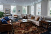 The new Maugans Alumni Center is infused with the spirit of Longwood