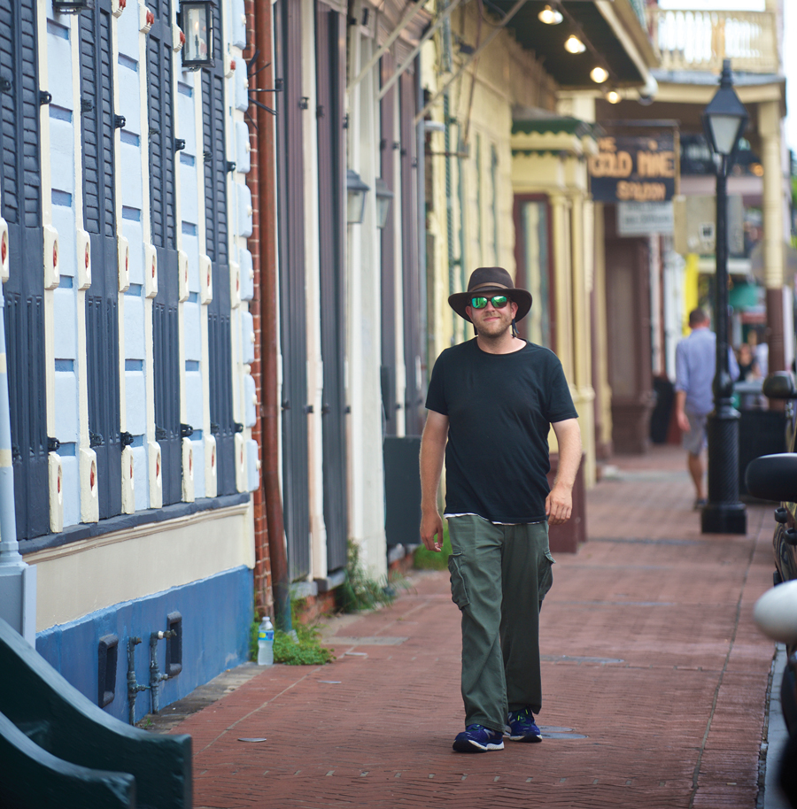 Tyler Fruge, M.A. '14, who lives in New Orleans, already has won awards for a film he wrote and codirected.