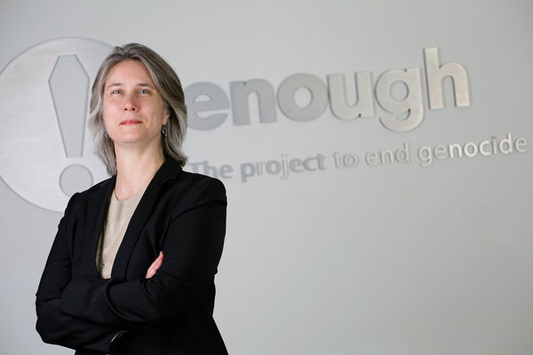 Anna Prow '88 is managing director and chief operating officer for the Enough Project, based in Washington, D.C.
